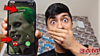 DO NOT CALL THE JOKER FROM SUICIDE SQUAD MOVIE AT 3AM!! *OMG HE CAME TO MY HOUSE* thumbnail