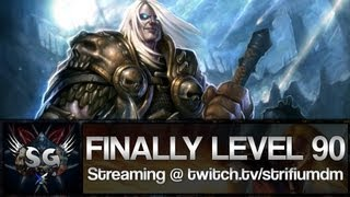 Strifium - Finally Level 90 On My New Account & Streaming!