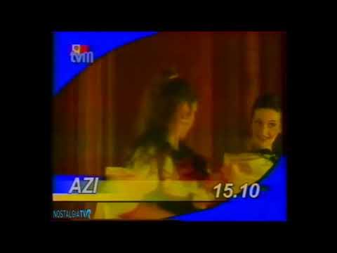 Начало эфира и программа передач (TVM Молдова,декабрь 2001)