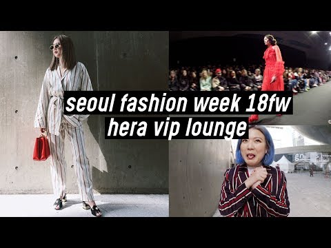 Seoul Fashion Week 2018: H&M Twin Outfits, Hera VIP Lounge, Romanchic, Han Chul Lee | DTV #94