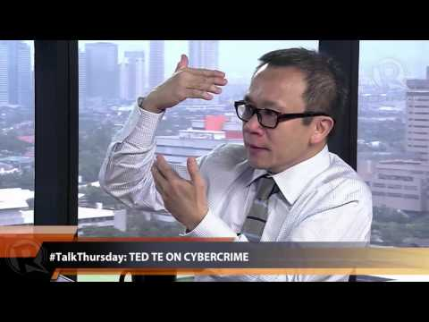 #TalkThursday: Ted Te on cybercrime law