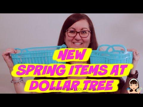 NEW SPRING ITEMS AT DOLLAR TREE