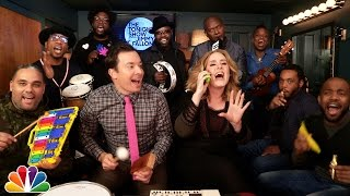 "Video Jimmy Fallon, Adele & The Roots Sing ""Hello"" (w/Classroom Instruments) download MP3, 3GP, MP4, WEBM, AVI, FLV Oktober 2017"