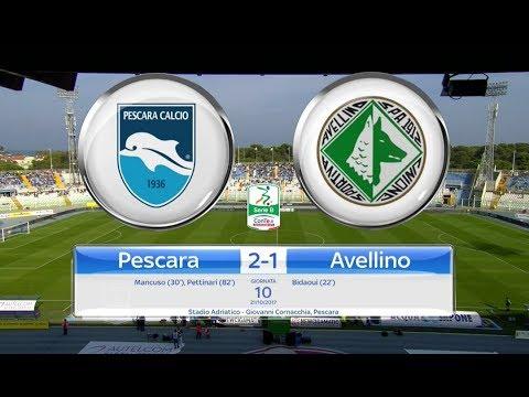 PESCARA - AVELLINO 2-1, gli highlights