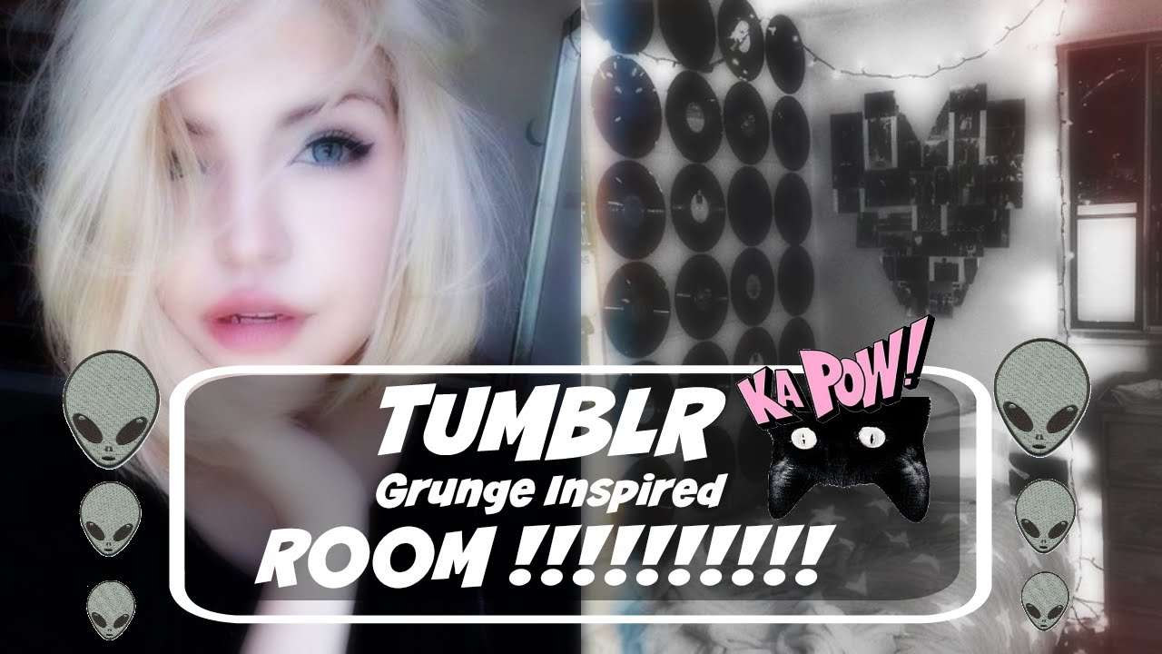 Tumblr Grunge Inspired Room Tour Youtube