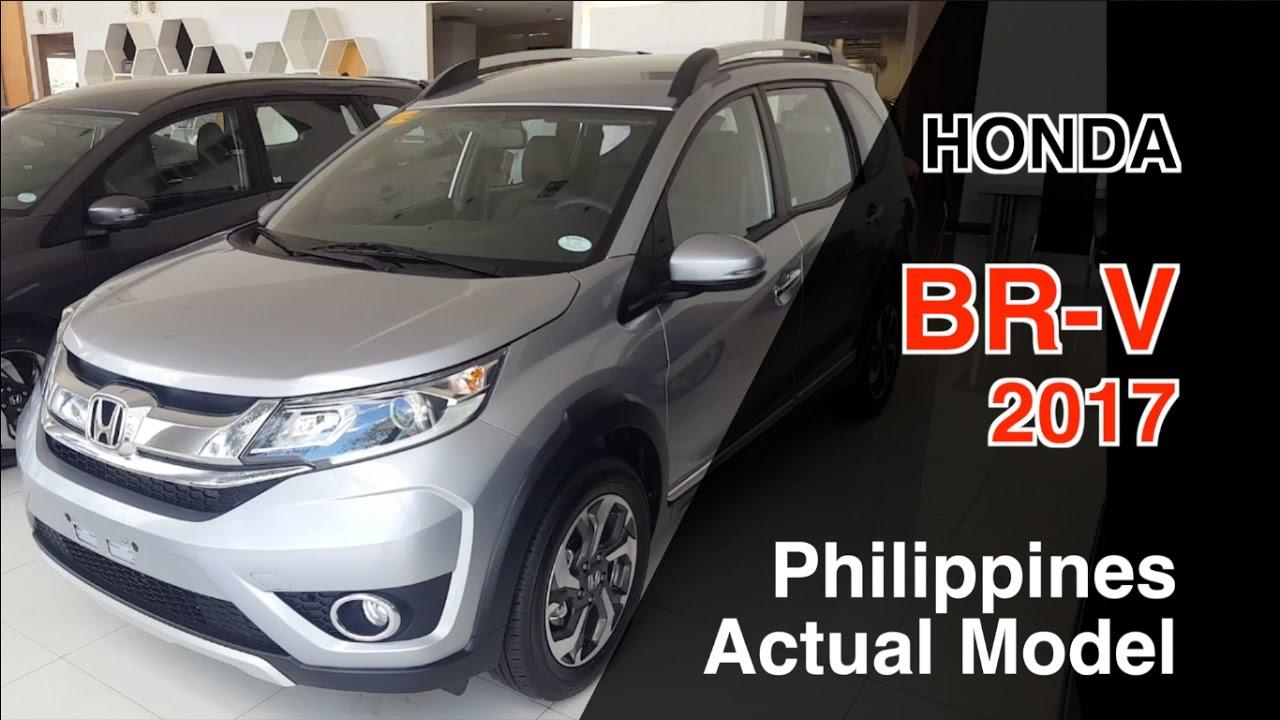 Honda Br V 2017 Philippines Actual Model Review 혼다 Br V Youtube
