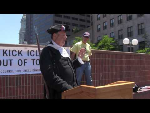 Massachusetts Property Rights Council Press Conference and Flag Raising in Boston Part 1