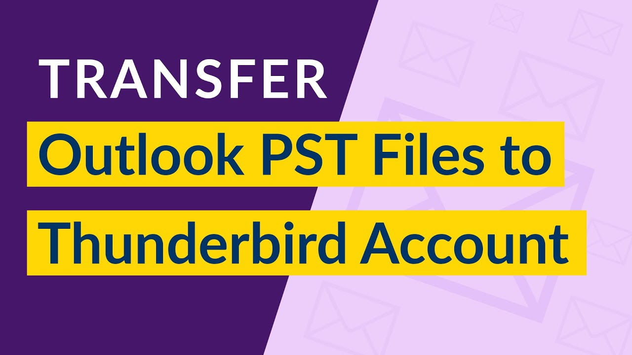 Transfer Outlook to Thunderbird Freeware Email Client with Contacts