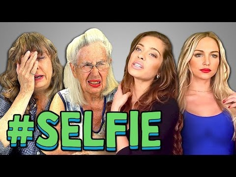 ELDERS REACT TO #SELFIE