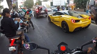 ferrari 488 gtb reactions india bangalore