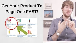 How To Get Your Product To Page ONE On Amazon. Listing SEO, Ranking, Sponsored Ads, PPC, Promotions,