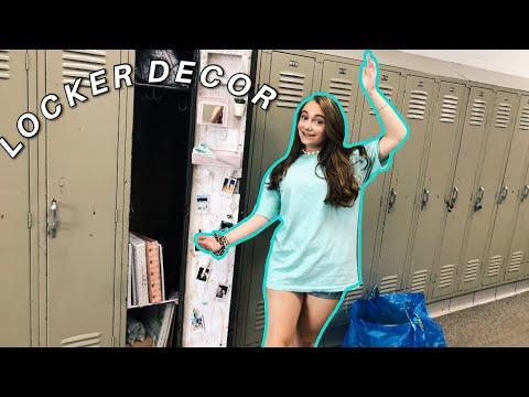 EXCESSIVE Locker Decorating Vlog/ Haul // #backtoschoolwithelise// Elise Cary