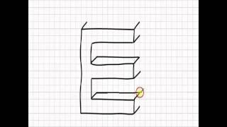 Dibujar letras en 3D