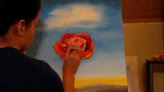 Salvador Dali Rose speed painting