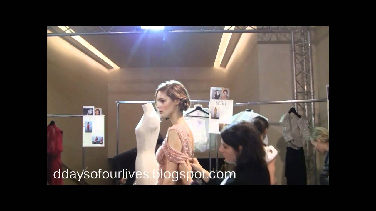 Elie Saab Haute Couture Spring Summer 2011 backstage (Dressing ...