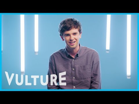 Freddie Highmore Plays a Good Doctor on TV, But Don't Ask Him For Medical Advice