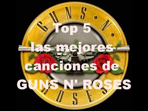 Top 5 las mejores canciones de Guns N' Roses