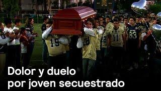 Amigos y familiares rinden homenaje a joven secuestrado en Naucalpan -  En Punto con Denise Maerker