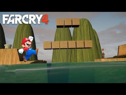 SUPER MARIO - Far Cry 4 (Map Editor)