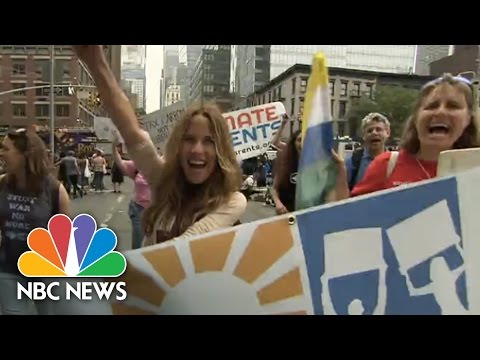 People's Climate March: Worldwide Action | NBC News