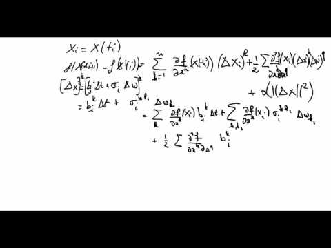 Ito calculus