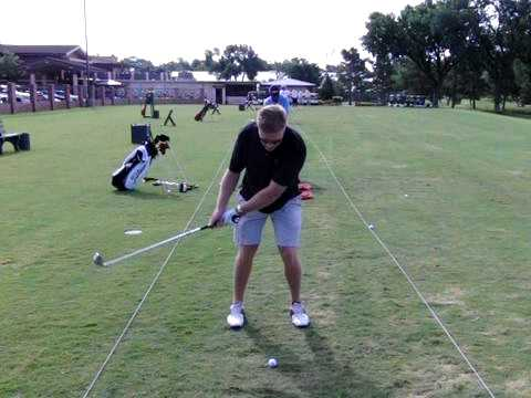 Lance Peters Golf Swing