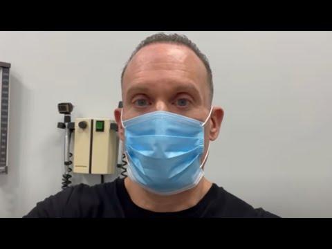 Dave Palumbo Visits Thyroid Cancer Surgeon