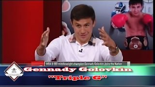 GGG talks Floyd Mayweather, Canelo, Andre Ward with Max Kellerman On Sportsnation