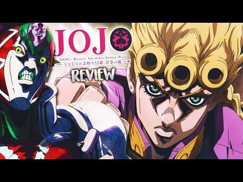 JOJO'S BIZARRE ADVENTURE PARTE 5: GOLDEN WIND   REVIEW Y OPINIÓN