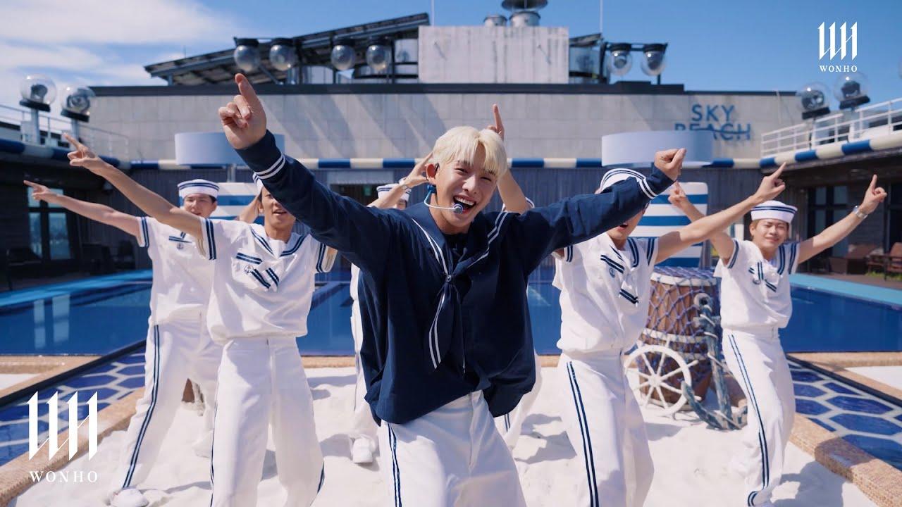 Download WONHO 원호 'BLUE' Live Performance (Marine Look ver.)