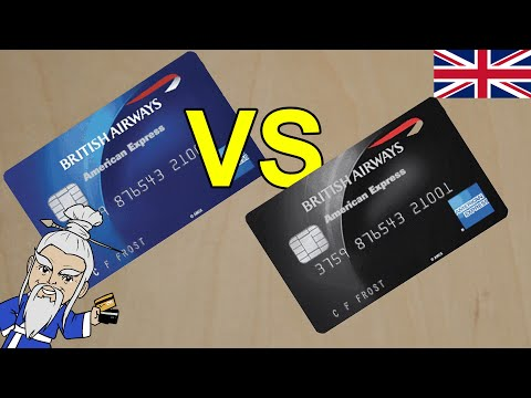 British Airways American Express Cards Compared (UK Version)