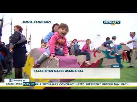 Kazakhstan marks Astana day