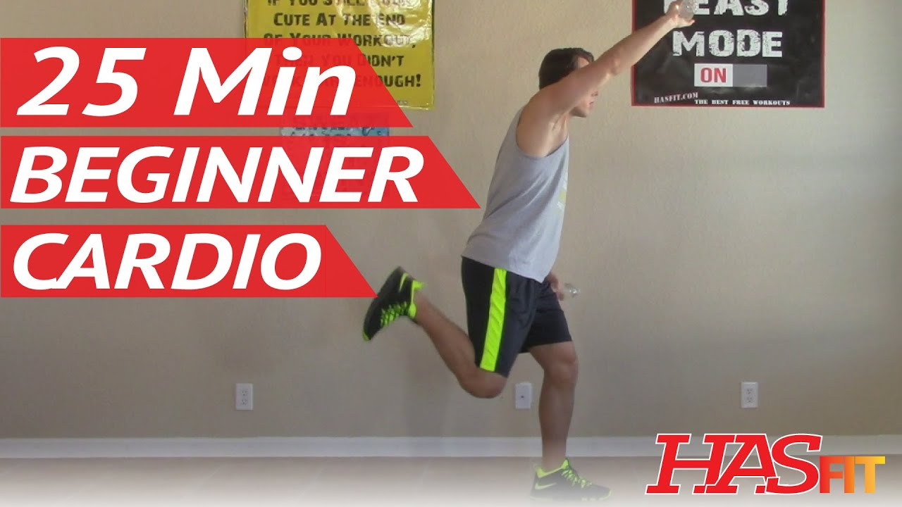 25 Min Beginner Cardio Workout At Home