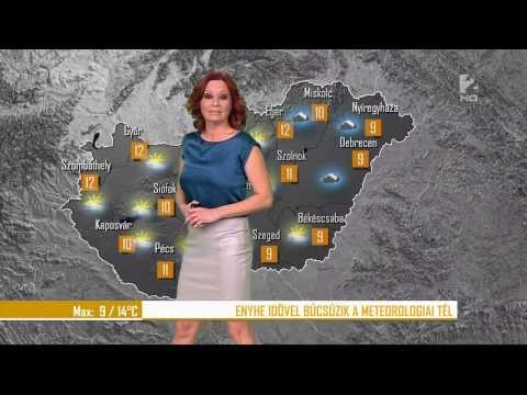 IdGaál Noémi 2014 02 25 Sexy Hungarian Weather Forecast Girl thumbnail