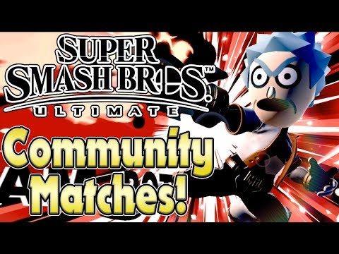 DIE MEMES ÜBERNEHMEN! Super Smash Bros Ultimate - Community Runden! feat. Andydote