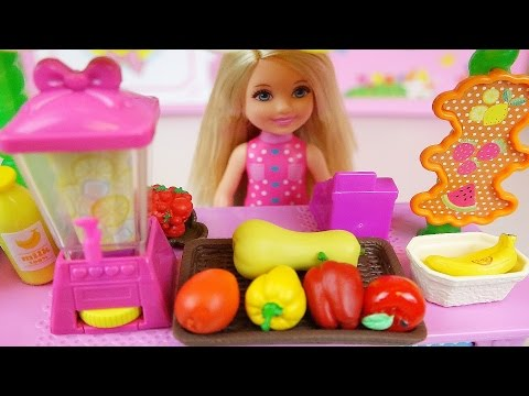 Thumbnail: Fruit Juice Shop and Baby doll barbie toys play