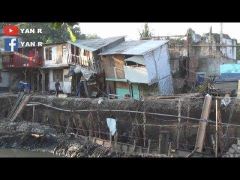 Tanah Ambles Akibat Pengerukan Kali Ancol Pademangan Mp3
