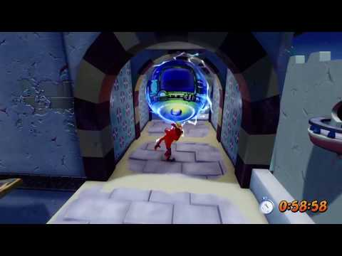 Crash Bandicoot: Warped - High Time - Time Trial (Gold Relic) 0:58:58