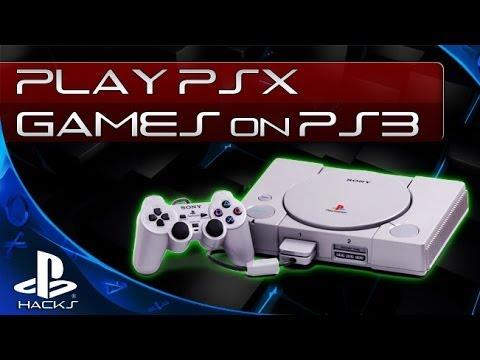 Запуск PS1 игр на PS3 (кастомная прошивка)