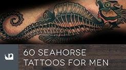 60 Seahorse Tattoos For Men