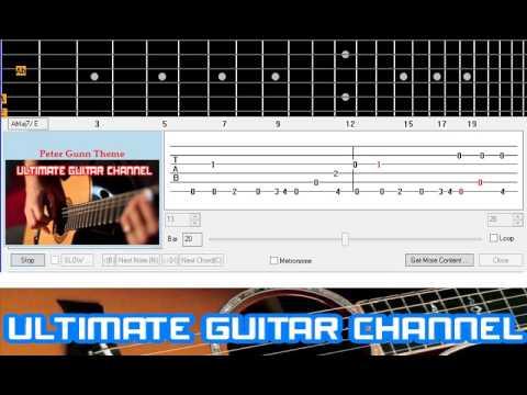 [Guitar Solo Tab] Peter Gunn Theme (Henry Mancini)