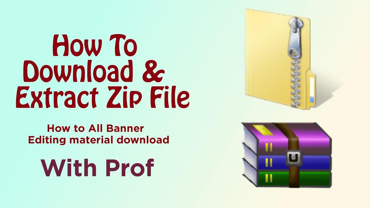 download zip extract