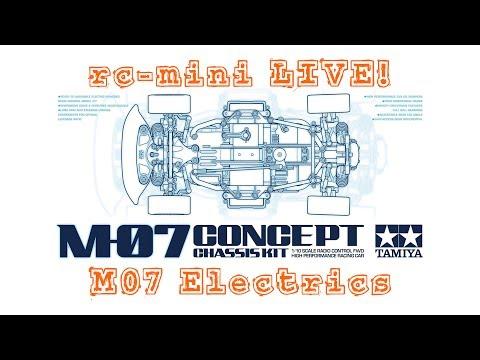 Tamiya M07 Concept - Installing Electrics