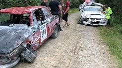 Lahti EM Historic Rally 2019 | Crash & Action |