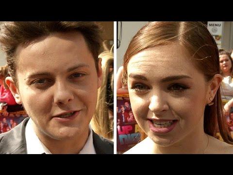 Tyger Drew Honey, Louisa ConnollyBurnham & Ethan Lawrence  Up All Night Premiere