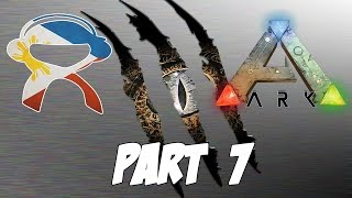 Ark Survival Evolved | Part 7 | Camping and Taming - Pinoy Ark Gameplay