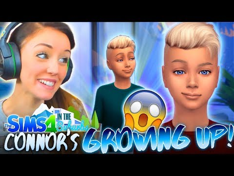 😱CONNOR'S GROWING UP!😭 (The Sims 4 IN THE SUBURBS #7! 🏘)