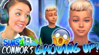 😱CONNOR'S GROWING UP!😭 (The Sims 4 IN THE SUBURBS #8! 🏘)