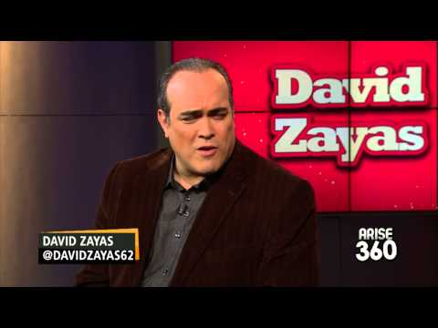 "David Zayas on his role in the new film ""Annie!"""