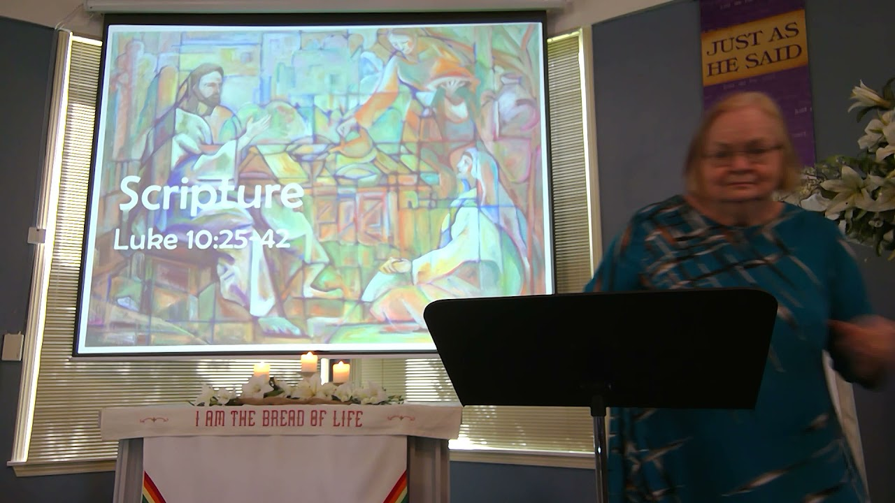 """May 16, 2021 ~ Rev. Julia Price ~ """"The Heart of the Matter"""""""
